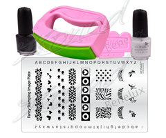 Konad Fancy stamping kit 2