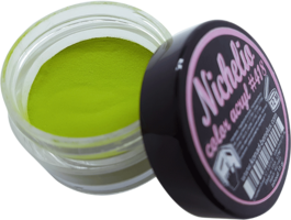 Nichelio color acryl - 418  color: pure green