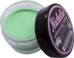 Nichelio color acryl - 444    color: metallic green
