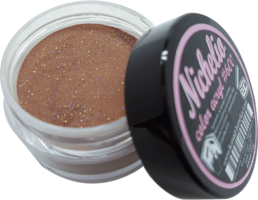 Nichelio color acryl - 600      color: glitter dark brown