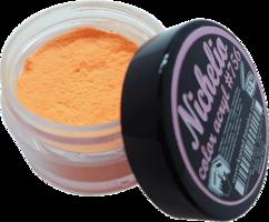 Nichelio color acryl - 756  color: neon orange