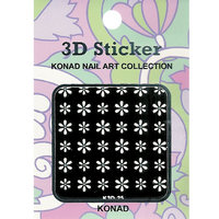 3 D sticker-25 Glam 3D nail sticker