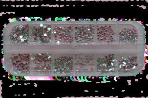 RNAR-38 baby rose strass steentjes