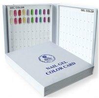Presentatiekaart boek wit voor 120 kleuren