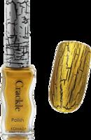Konad crackle polish - gold