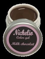 Nichelio color gel - milk chocolat