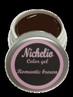Nichelio color gel - romantic brown