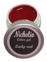 Nichelio color gel - lady red
