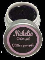 Nichelio color gel - glitter purple