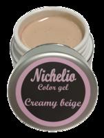 Nichelio color gel - creamy beige