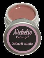 Nichelio color gel - blush nude