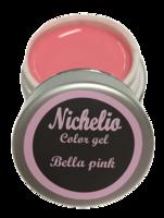 Nichelio color gel - bella pink