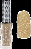 Sandy polish - glitter gold
