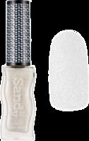 Sandy polish - pastel white