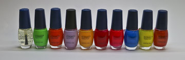 Set 10 kleuren nagellak lot 13