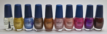 Set 10 kleuren nagellak lot 10