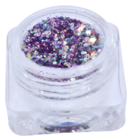 Hexagon glitter B6