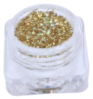 Hexagon glitter B37