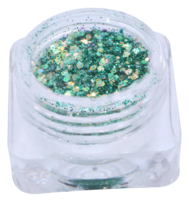 Hexagon glitter B25