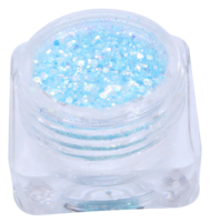 Hexagon glitter B33