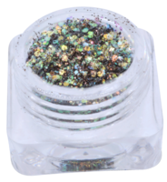 Hexagon glitter Q49