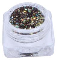 Hexagon glitter B41
