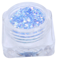 Hexagon glitter B87