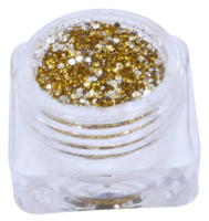 Hexagon glitter B39