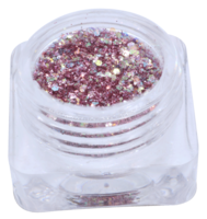 Hexagon glitter B5