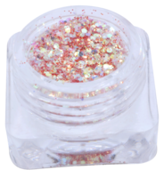 Hexagon glitter B60