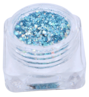 Hexagon glitter B80