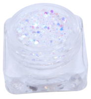 Hexagon glitter B84
