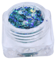 Hexagon glitter B88