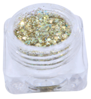 Hexagon glitter B65