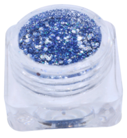 Hexagon glitter B66
