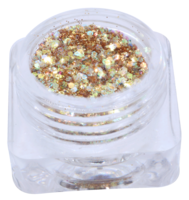 Hexagon glitter B38