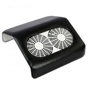 Armsteun afzuiging  zwart krachtige ventilatoren
