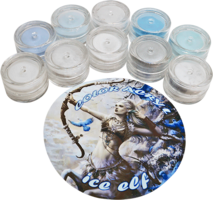 Nichelio color acryl set ice elf