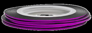 Tape line 2 - purple shimmer - 1mm
