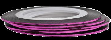 Tape line 5 - pink shimmer - 1mm