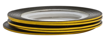 Tape line 8 - gold - 1mm