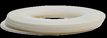 Tape line 9 - white - 1mm