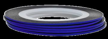Tape line 10 - blue shimmer - 1mm