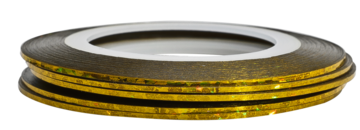 Tape line 11 - holographic gold - 1mm