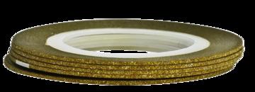 Tape line 12 - glitter gold - 1mm