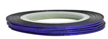 Tape line K2 - pixel dark blue - 1mm
