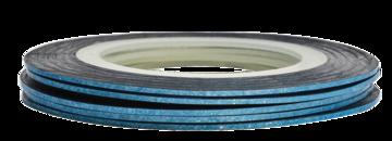 Tape line K4 - pixel light blue - 1mm