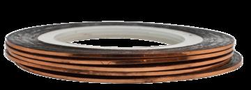 Tape line K6 - copper - 1mm