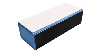 Polijstblok blauw 4 way