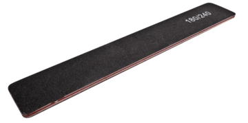 50 Vijlen recht breed zwart 180/240